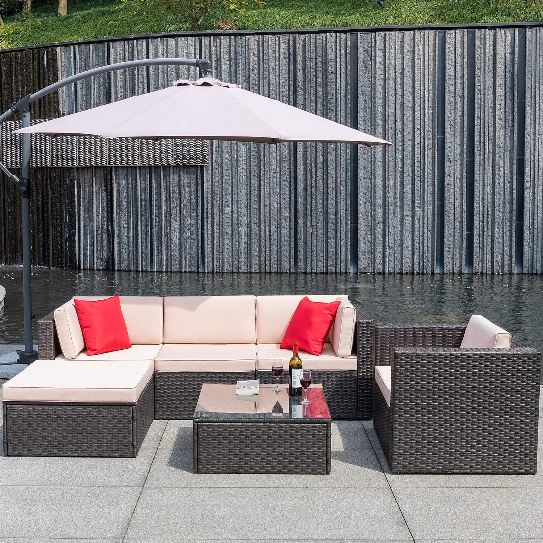 Flamaker Furniture Outdoor Sectional Conversation
