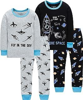 لباس خواب پسرانه کریسمس کودک Truk لباس بچه گانه شلوار کودک 4 قطعه لباس خواب