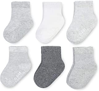 Baby 6-Pack All Weather Crew-Length Socks, Mesh & Thermal...