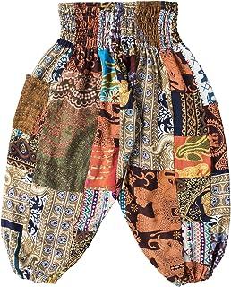 Lofbaz Kid's Patch Boho Pants