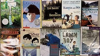 Gary Paulsen Wilderness Novel Collection 10 Book Set