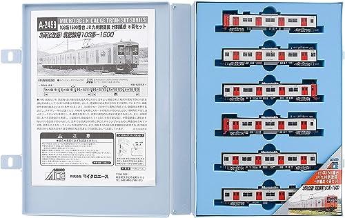 ordene ahora los precios más bajos Micro As N calibre 103 1500 series serie JR Kyushu Kyushu Kyushu nueva divisioen de pintura organizado 6-car set A2459 modelo de tren de ferrocarril  barato y de alta calidad