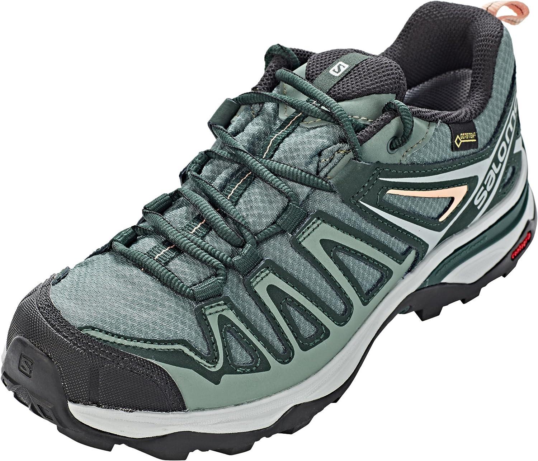 No de moda Humillar puesto  SALOMON Women's X Ultra 3 Prime GTX W Low Rise Hiking Boots, Green Balsam  Green Darkest Spruce Coral a 000, 4 UK: Amazon.co.uk: Shoes & Bags