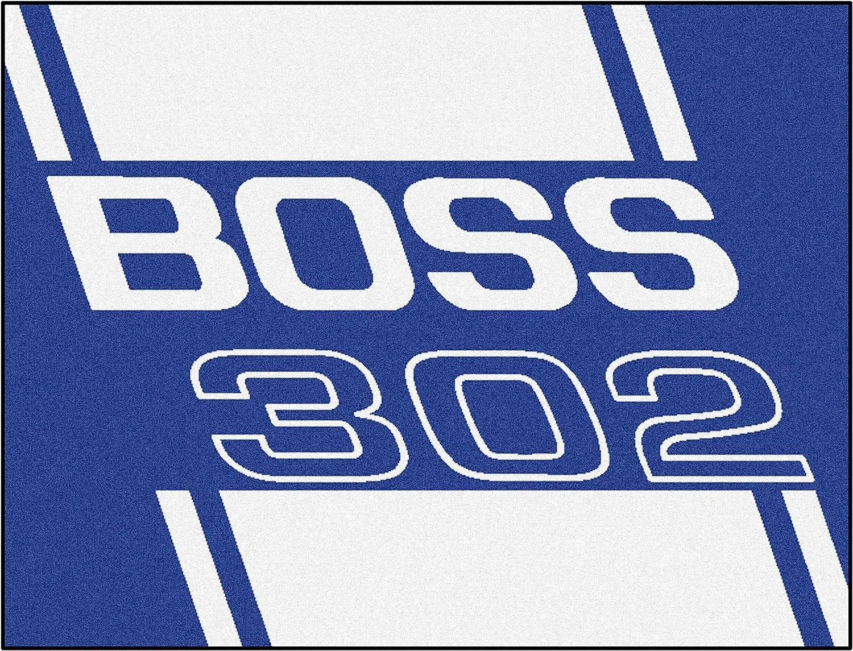 FANMATS 16257 Team color 33.75  x 42.5  All-Star Mat (Boss 302 - Red)