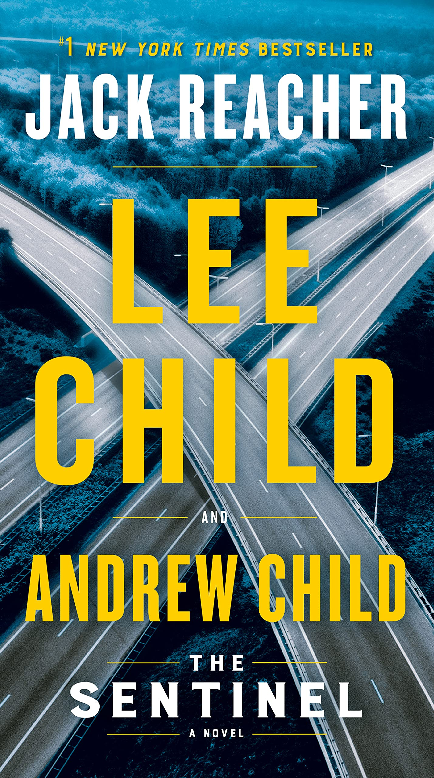 Cover image of The Sentinel by Lee Child & Andrew Child