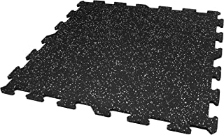 IncStores 8mm Strong Rubber Tiles (23in x 23in Tiles/Multi Piece Floor Kits) Interlocking Rubber Gym Mats for Home Gym Flooring, Exercise Mats, Equipment Mats & Fitness Room Floors