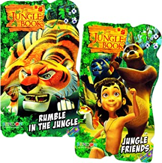Jungle Book Baby Toddler Beginnings Board Books Set (Set of 2 Toddler Books)