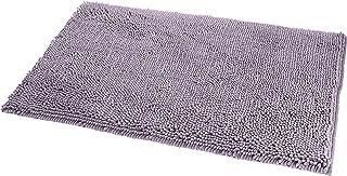 AmazonBasics Non-Slip Microfiber Shag Bathroom Rug Mat, 21