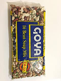 Goya 16 Bean Soup Mix No. 1 Grade, 14 oz, 1 bag