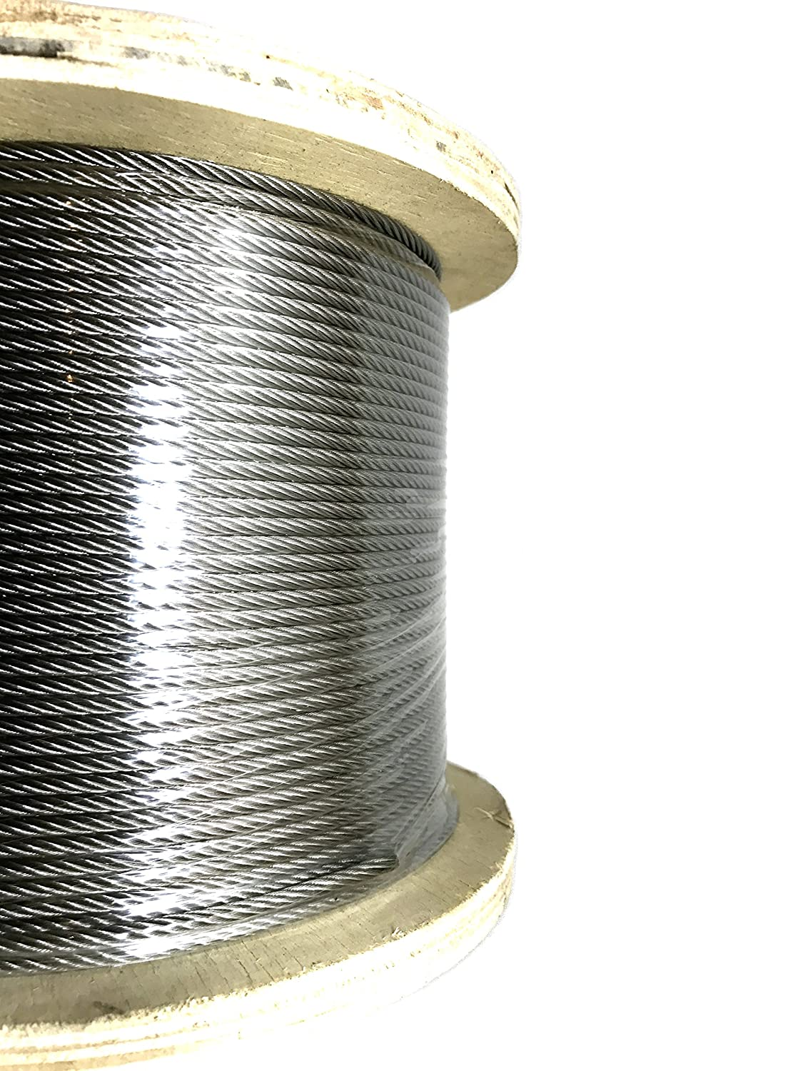 Panorama 1/8in 7x19 Stainless Steel Cable Type 316 Marine Grade