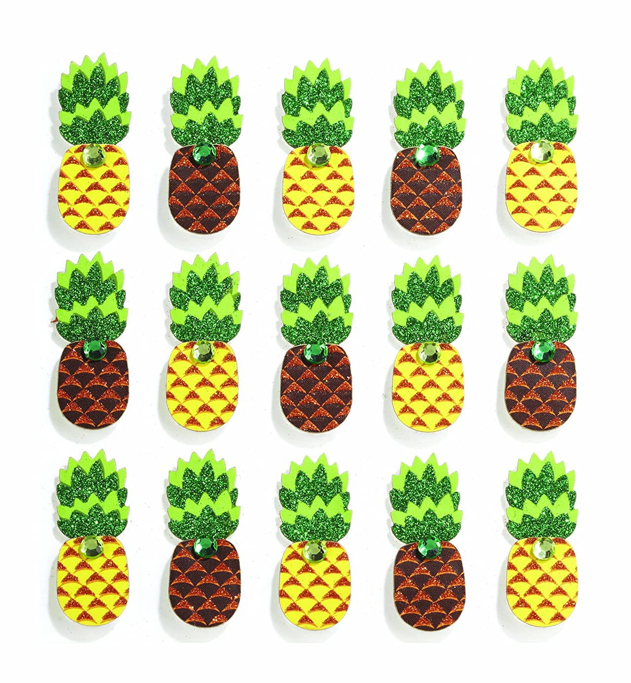 Jolee's Boutique Repeats Dimensional Stickers, Pineapple