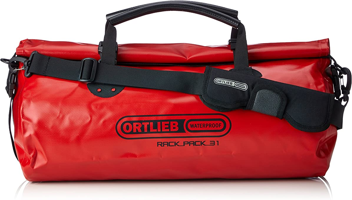 Ortlieb K39 Rack-Pack Travel Bag, Red, S (48 cm x 24 cm x 24 cm, 24 Litre)