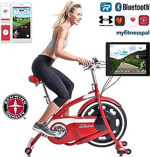Schwinn Classic Cruiser - stylischer Heimtrainer mit neuer Technologie | Smartphone und Tablet Anbindung über Bluetooth | ...