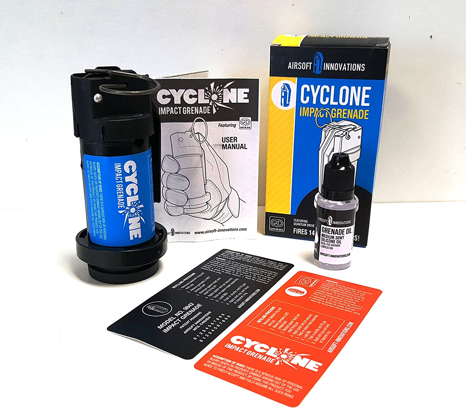 Airsoft Innovation Cyclone Impact BB Shower