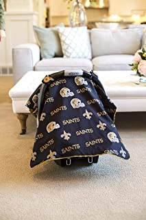 Carseat Canopy (NFL New Orleans Saints) Baby Infant Car Seat Cover