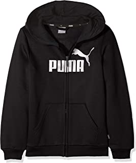 Puma 儿童 Ess 标志连帽夹克 Fl B 运动衫