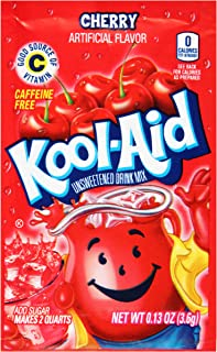 Sponsored Ad - Kool-Aid Cherry Flavored Unsweetened Caffeine Free Powdered Drink Mix (192 Packets)