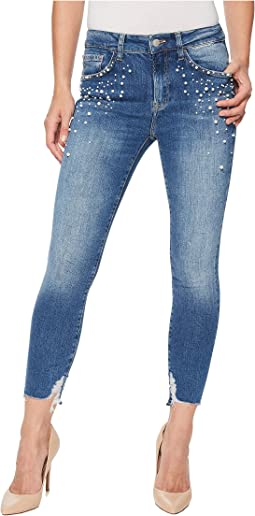 Tess High-Rise Super Skinny Ankle in Indigo Pearl