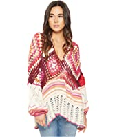 Free People Call Me Crochet Top