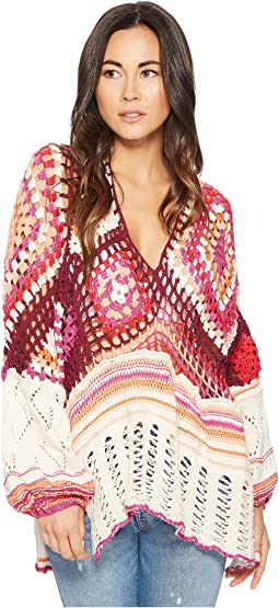 Free People - Call Me Crochet Top