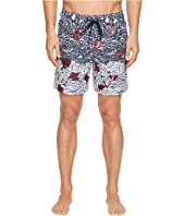 Z Zegna - Palm Leaf Swim Trunks