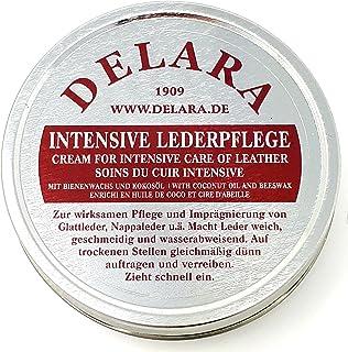 DELARA Intensive Lederpflege - 150 ml farblos - Imprägniert und schützt Leder sehr wirksam, neue Rezeptur mit hochwertigem Kokosöl und Bienenwachs