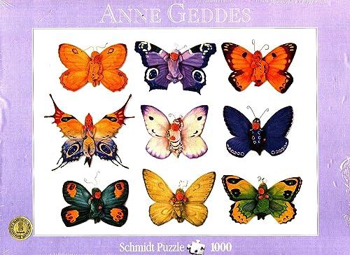 buena calidad Anne Geddes Geddes Geddes Rompecabezas de 1000 Piezas Butterfly Collection (57933)  comprar descuentos