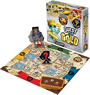 Wonder Forge Treasure X: Quest for Gold for Boys & Girls Age 5 & Up - A Fun & Fast Family Adventure Game You Can Play Over & Over