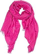 GIULIA BIONDI 100% Made in Italy Bufanda Cachemira Estola Chal Pareo Ligera Suave Envolvente para Mujer y Hombre