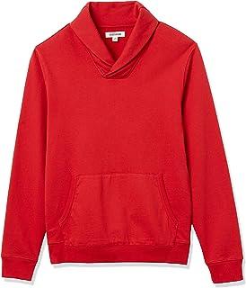 Goodthreads Men's Standard Lightweight French Terry Shawl Collar Pullover Sweatshirt