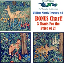 William Morris Deluxe Treasury #3-3 Counted Cross Stitch Patterns Charts