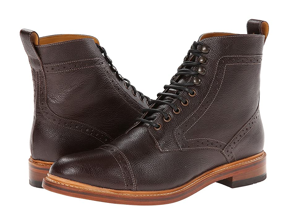 Stacy Adams Madison II (Oxblood Milled Leather) Men