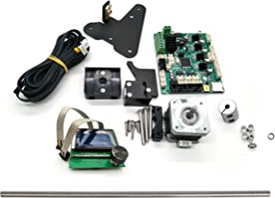 CHPOWER CR-10 to CR-10S Upgraded DIY Kit, Creality CR10 Upgrade, Includes Dual Z Axis, CR-10S Board, LCD Screen, Lead Screws, Filament Detector, Motor Wires