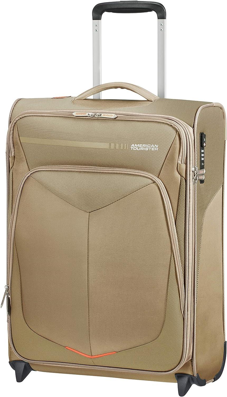 American 高級な Tourister Summerfunk Suitcase 55 - cm Beige beige 12 信頼