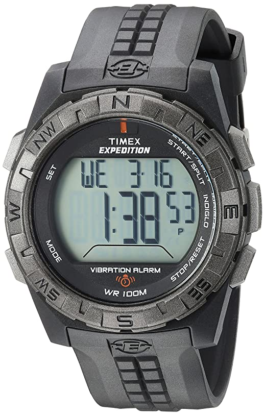 Timex Digital Expedition Watch with Vibrating Alarm dv0048570