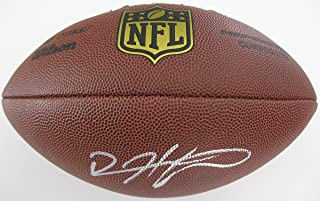 Devin Hester, Atlanta Falcons, Chicago Bears, Signed, Autographed, NFL Duke Football, a COA with the Proof Photo of Devin Signing the Football Will Be Included
