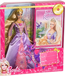Barbie Rapunzel DVD and Doll Gift Set