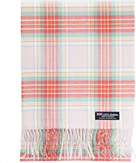 cashmere tartan scarf