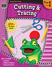 Ready•Set•Learn: Cutting & Tracing, Grades PreK–K from Teacher Created Resources PDF