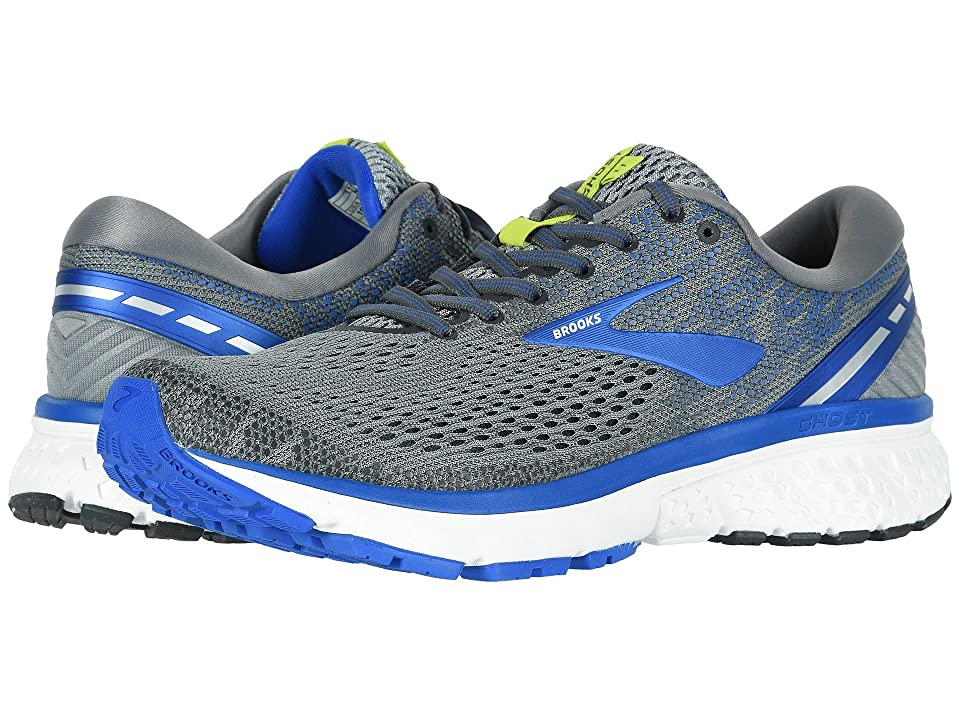Brooks Ghost 11 (Grey/Blue/Silver) Men's Running Shoes