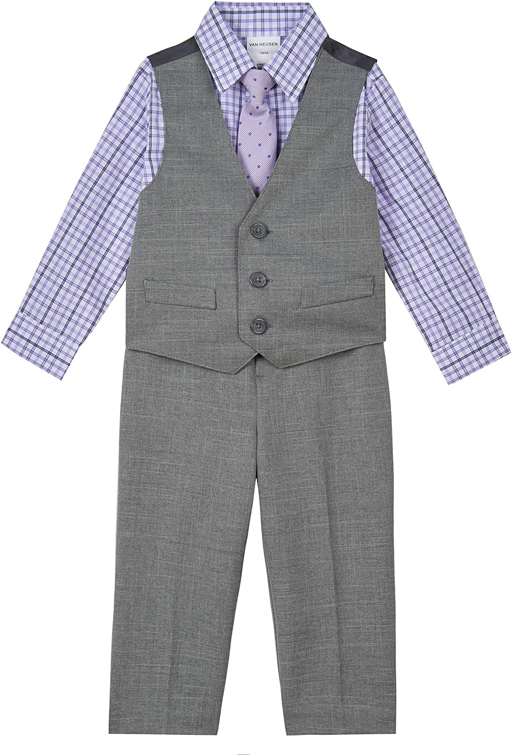 Van Heusen Baby Boys Max 54% OFF 4-Piece Dress Set Outlet ☆ Free Shipping Formal Vest Up
