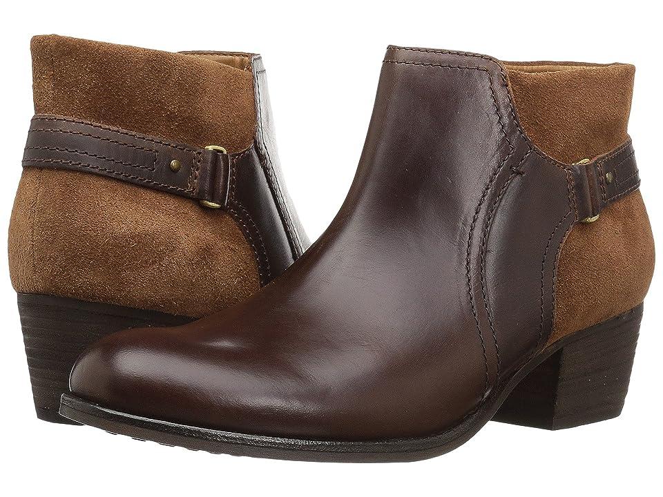 Clarks Maypearl Lilac (Dark Tan Combo) Women's Boots
