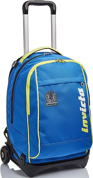 Trolley scuola invicta new tech bagagli- set di bagagli unisex - bambini B0952ZHRCJ