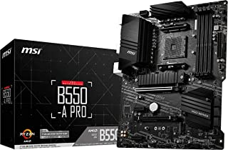 MSI B550-A PRO マザーボード ATX [AMD B550 チップセット搭載] MB5032