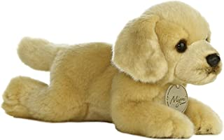 Cachorro De Pelúcia Golden Labrador Série Miyoni Aurora 20cm Comprimento