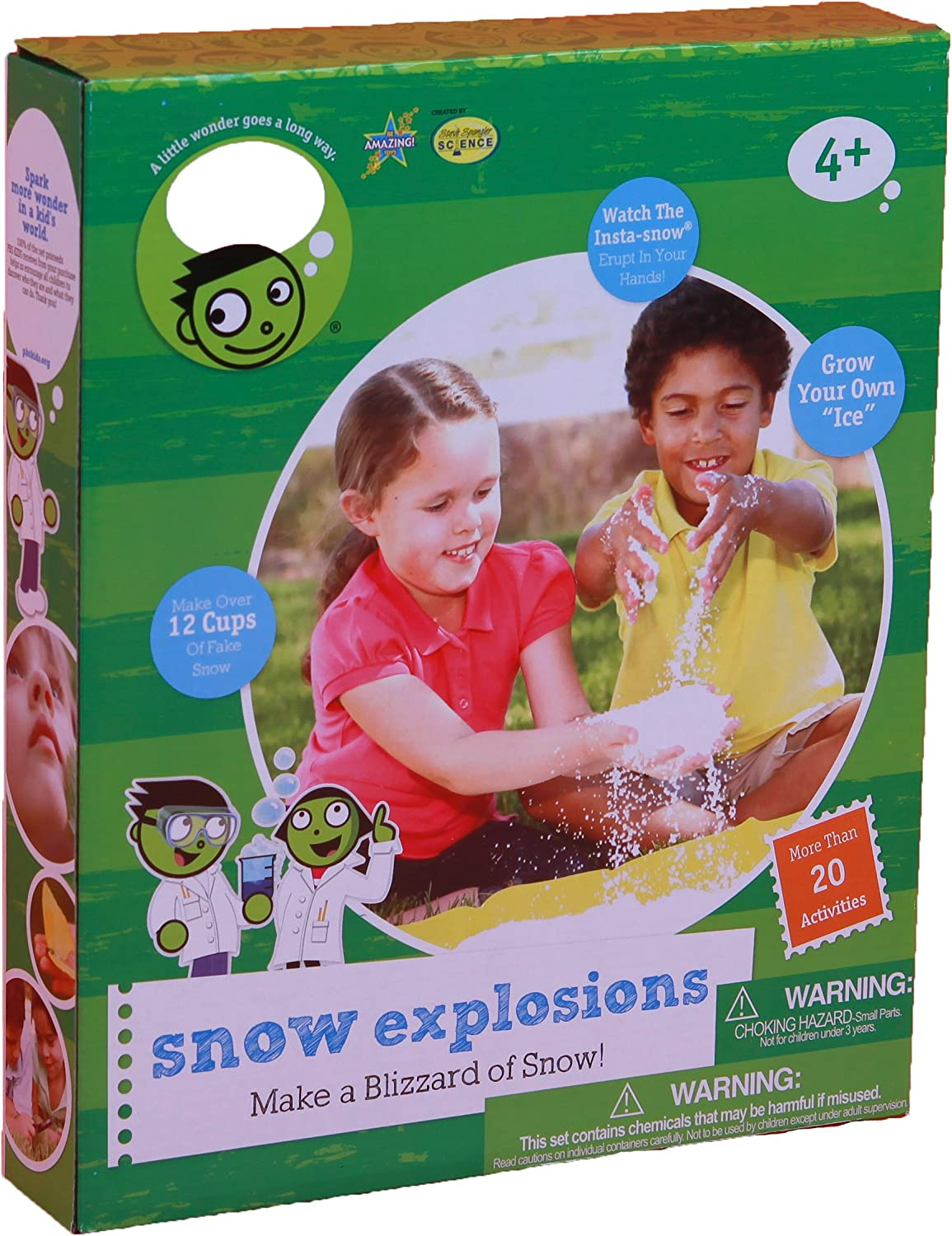 Be Amazing Toys Snow Explosions Science Experiment Kits