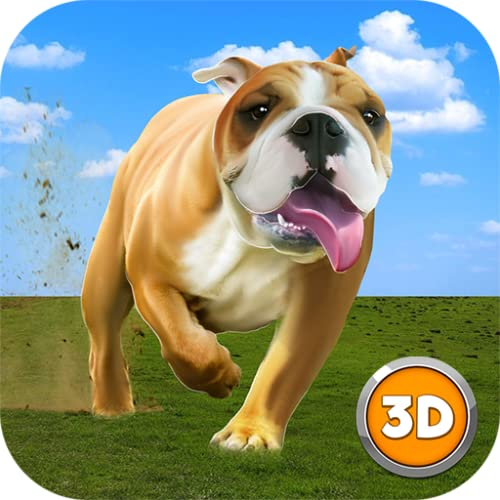 Big City Bulldog Simulator 3D: Ultimate Dog Adventure Game | Lovely Pets Animal Dash Doggy Dog World