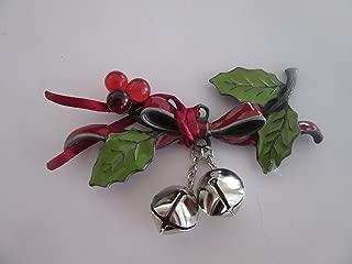 Longaberger Holiday Bells Basket Tie on
