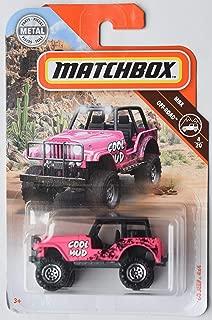 Matchbox Off Road Series Pink '60 Jeep 4X4 4/20