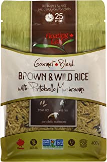Floating Leaf Wild Rice Products-Parboil White and Wild Rice 400G
